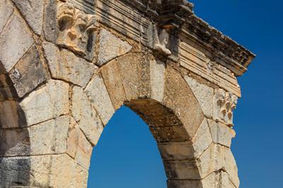 Thumbnail image ofArch along Decumanus Maximus.