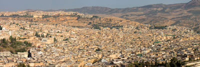 Thumbnail image of Panorama of old Fes.
