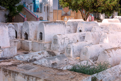 Thumbnail image ofGraves in the Jewish quarter.