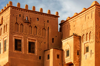 Thumbnail image of Fortified house, a kasbah.