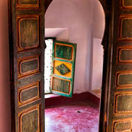 Kasbah internal door.