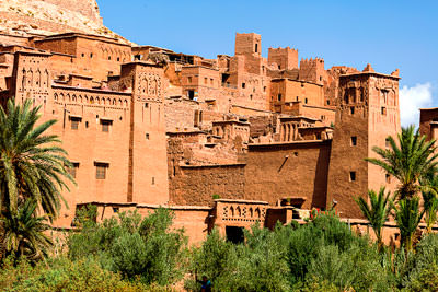 Thumbnail image ofFortifications around the ksar of Ait Benhaddou.