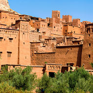 Fortifications around the ksar of Ait Benhaddou.