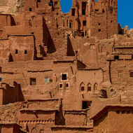 Collection of kasbahs in Ait Benhaddou.