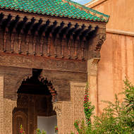 Building in the Saadian Tombs grounds.