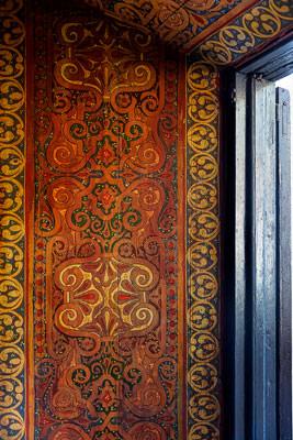 Thumbnail image ofWood panel beside window.