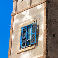 Tower with window.