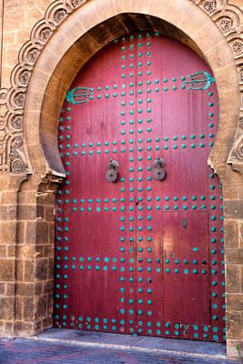 Thumbnail image ofSubstantial doors of the courthouse.