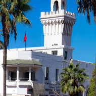 Casablanca port police station.