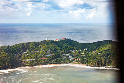 Thumbnail image of Cape Byron and lighthouse.