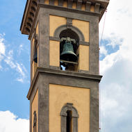 Santa Croce church bell tower.