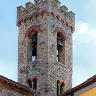 Bell tower of San Niccolo church.