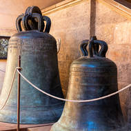 Old bells at Musei Civici.