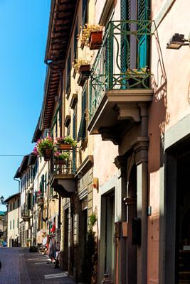 Thumbnail image ofStreet scene, Greve in Chianti.
