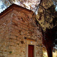 Small church of San Cresci.