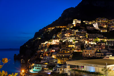 Thumbnail image of Night lights of Positano.