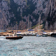 Marina Grande at the Isle of Capri.