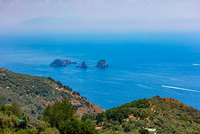 Thumbnail image ofLi Galli islands from the road to Sant'Agata sui...