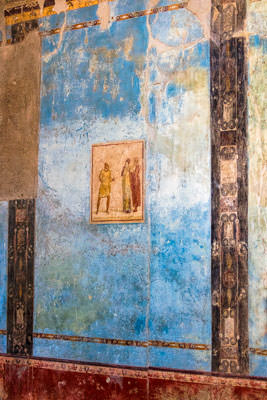 Thumbnail image ofFresco decoration within a house.