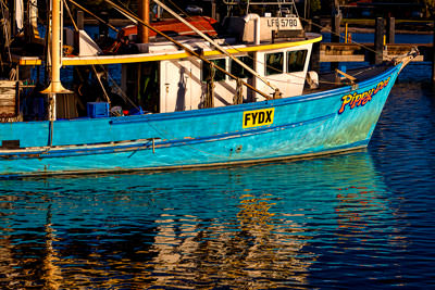 Thumbnail image ofFishing boat in harbour.