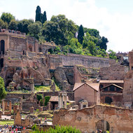 The forum, foro Romano.