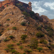 Jaigarh Fort above.