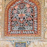 Jas Mandir window.