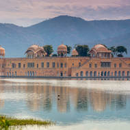 Water Palace, Jal Mahal, in Man Sagar lake.