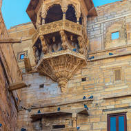 Jaisalmer Fort buildings.