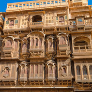 Haveli, wind catcher.