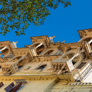 Balconies of City Palace.